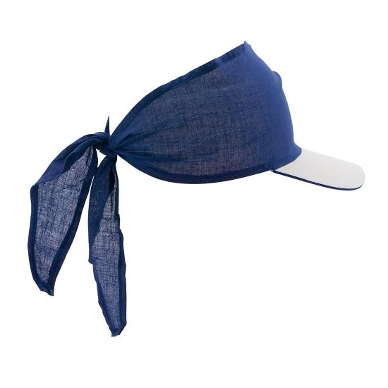 Bandana cap blauw