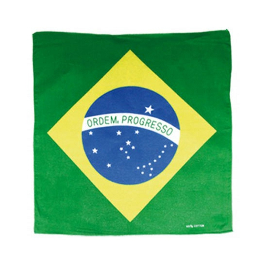 Fan bandana Brazilie