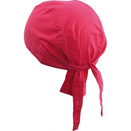 Roze bandana