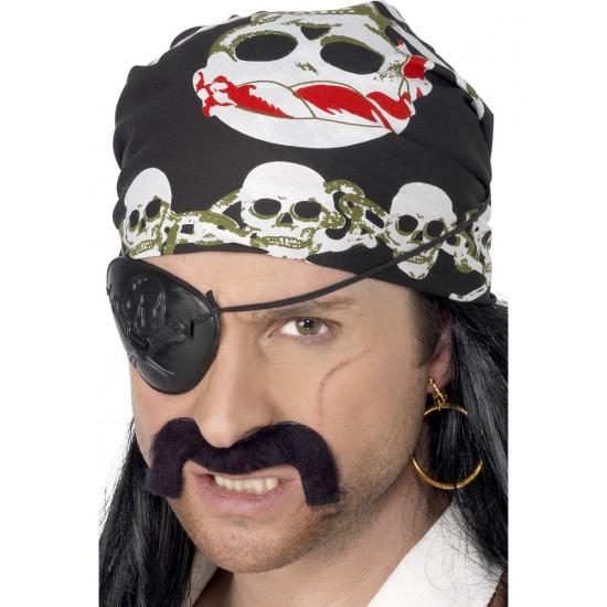 Skull bandana piraat