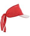 Bandana cap rood