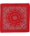 Bandana rood 55x55 cm