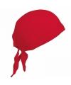 Kariban dames bandana rood