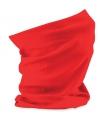 Multifunctionele morf sjaal rood